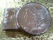 1881 MORGAN $ MONEY CLIP CUSTOM 48.7 925